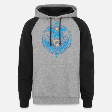 Kingdom Hearts Kingdom Hearts - Kingdom Hearts - there are many - Unisex Colorblock Hoodie