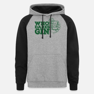 London Gin Drink Tonic - Unisex Colorblock Hoodie