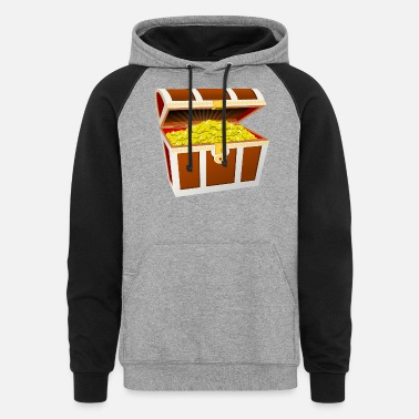 Treasure Treasure chest - Unisex Colorblock Hoodie