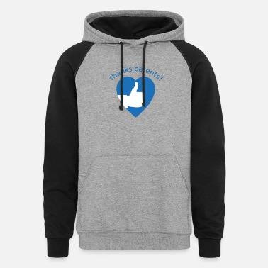 Christmas Vacation Thanks Parents kids family gift - Unisex Colorblock Hoodie