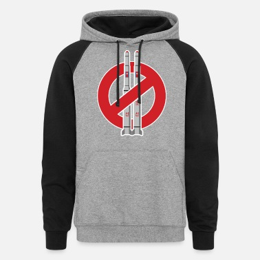 Missile No more missile - Unisex Colorblock Hoodie