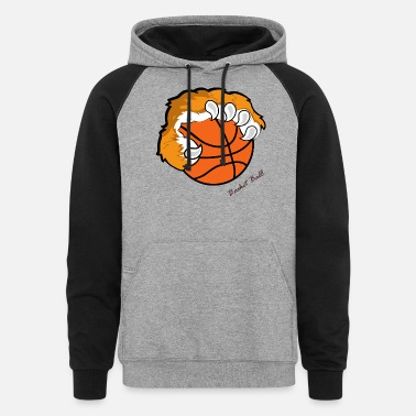 Basket Basket ball - Unisex Colorblock Hoodie