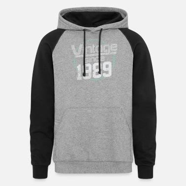 Birthday Hoodie Hood Champions Are Born In 1989 Birthyear 30th Retro Design