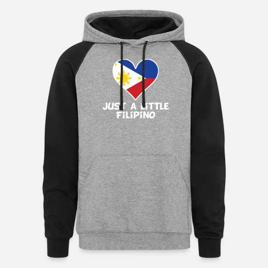 Unisex Baseball Jacket Uniform American Philippines Flag Heart Boys Girls Hoodie Sweatshirt Sweater Tee Back Print
