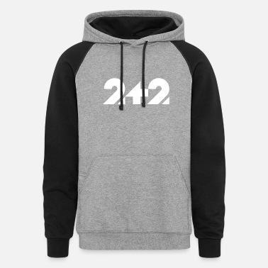 Two Two Plus Two - Unisex Colorblock Hoodie