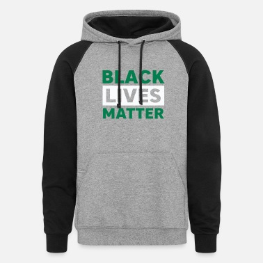 Clover Black Live Matter Made To Go With Jordan 13 Lucky - Unisex Colorblock Hoodie