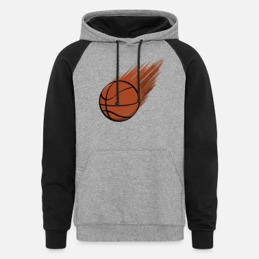 Heat Comet Basketball - Unisex Colorblock Hoodie