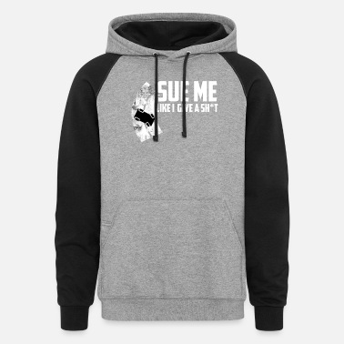 Tuning Sue Me Car Tuning Drifting - Unisex Colorblock Hoodie