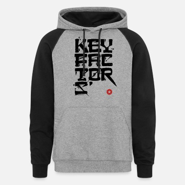 Factor key factor - Unisex Colorblock Hoodie