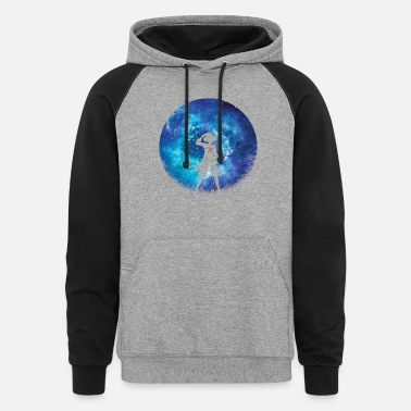 Fairy Tail Pirate Silhouette King - Unisex Colorblock Hoodie