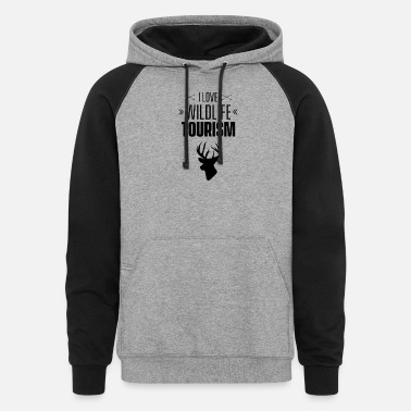 Wildlife Tourist Crew Wildlife Tourist - Unisex Colorblock Hoodie