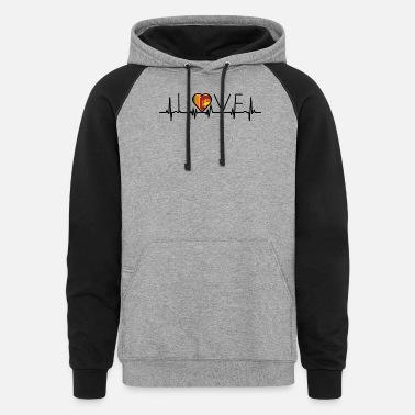 I Love Heart Colombo Black Kids Sweatshirt