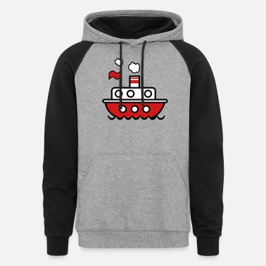 Toy boat toy boat toy - Unisex Colorblock Hoodie
