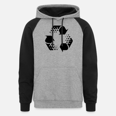Recycle recycle - Unisex Colorblock Hoodie