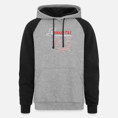 Mouse Mouse - Mouse rat formerly known as crackfinger - Unisex Colorblock Hoodie