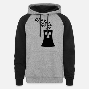 Nuclear Power nuclear power - Unisex Colorblock Hoodie