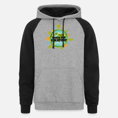 Earth Day Earth Day Every Day - Unisex Colorblock Hoodie