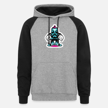 STICKER PACK - Unisex Colorblock Hoodie