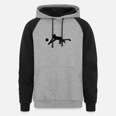 Volley volley-ball - Unisex Colorblock Hoodie