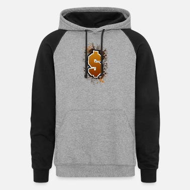 Dollar Sign Dollar sign - Unisex Colorblock Hoodie