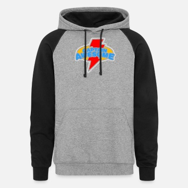 Search Search - Unisex Colorblock Hoodie