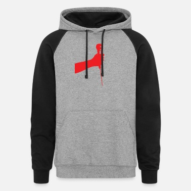 Comedian Shout out - Unisex Colorblock Hoodie
