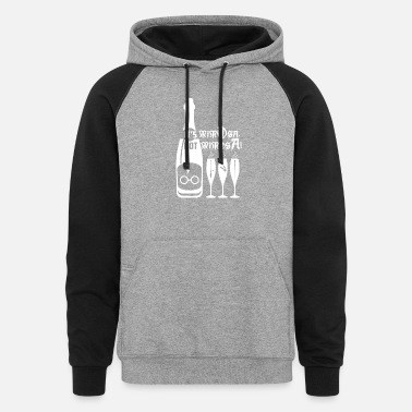 It s mimOsa not MimosA - Unisex Colorblock Hoodie