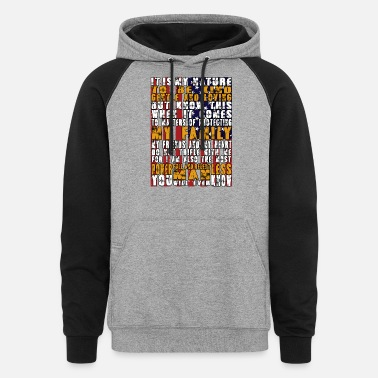 American Horror Story American - It's their nature to be kind and gent - Unisex Colorblock Hoodie