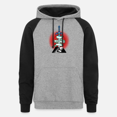 Tradition I Pull Out Master Sword - Unisex Colorblock Hoodie