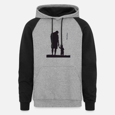 Son Father and Son - Unisex Colorblock Hoodie