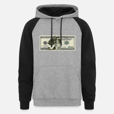 Bill Dollar Bill - Unisex Colorblock Hoodie