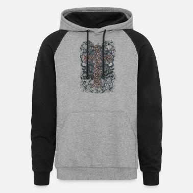 Celtic Cross Celtic Cross - Unisex Colorblock Hoodie