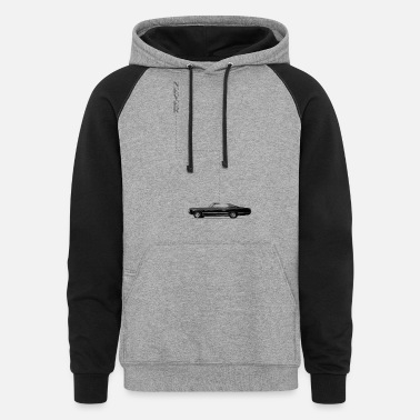 Homeless Supernatural: Never Homeless - Unisex Colorblock Hoodie