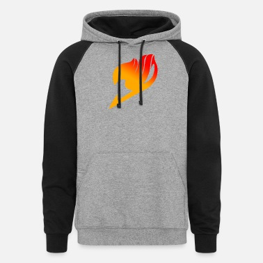 Fairy Tail Manga Fairy Tail Anime - Unisex Colorblock Hoodie