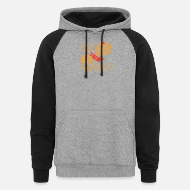 Cake CAKE OR DEATH - Unisex Colorblock Hoodie