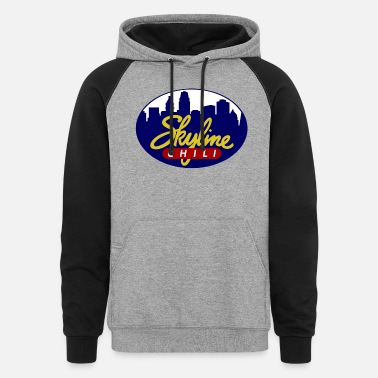 Skyline Skyline Chili - Unisex Colorblock Hoodie