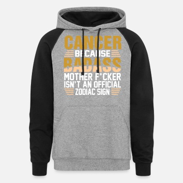 Cancer Zodiac Sign Cancer Zodiac Sign - Unisex Colorblock Hoodie