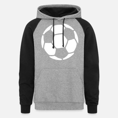 Soccer Ball SOCCER BALL - Unisex Colorblock Hoodie