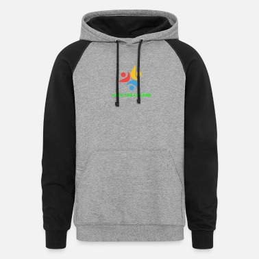 Feel Feel the colors - Unisex Colorblock Hoodie