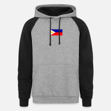 Filipino Flag Filipino flag - Unisex Colorblock Hoodie
