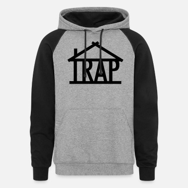 TRAP HOUSE OG - Unisex Colorblock Hoodie