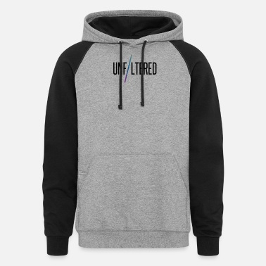 OFFICIAL Unfiltered T-Shirt - Unisex Colorblock Hoodie