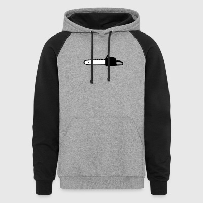 Chain saw - Colorblock Hoodie