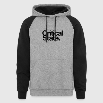 Critical State Merchandise - Colorblock Hoodie