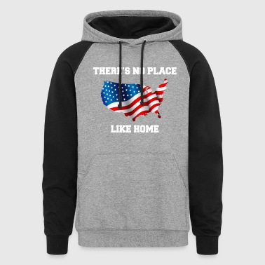 There's No Place Like Home - Colorblock Hoodie