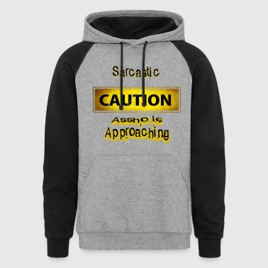 Caution - Colorblock Hoodie