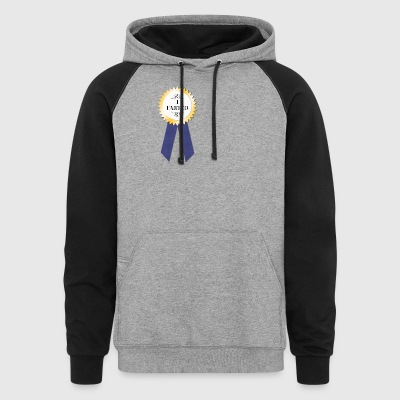 I farted award - Colorblock Hoodie