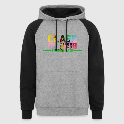 Class of 2018 Senior T-Shirts - Colorblock Hoodie
