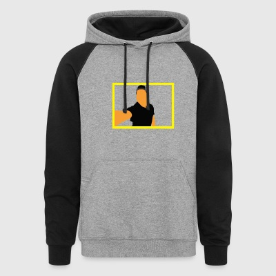 Yellow Frame - Colorblock Hoodie