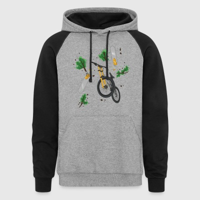 ChainSaw Bike - Colorblock Hoodie